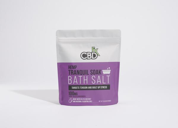 HEMP TRANQUIL SOAK BATH SALT