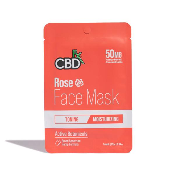 BROAD SPECTRUM 50MG MOISTURIZING FACE MASK ROSE