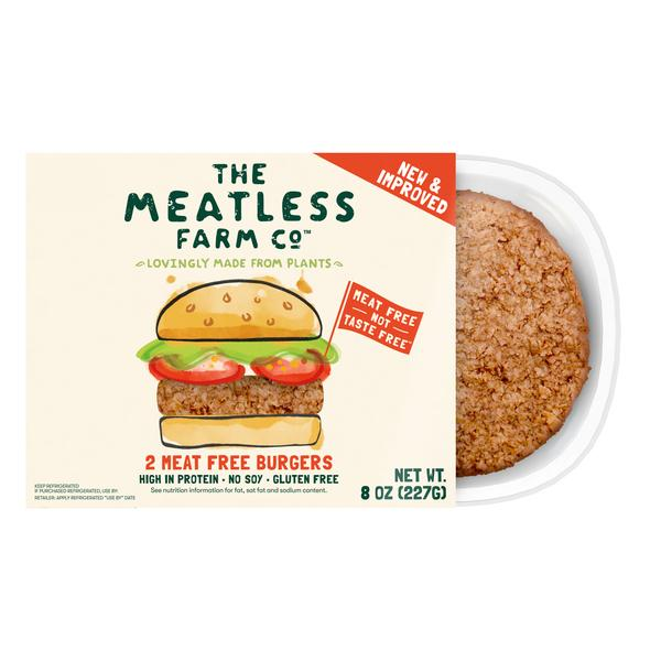 MEAT FREE BURGERS