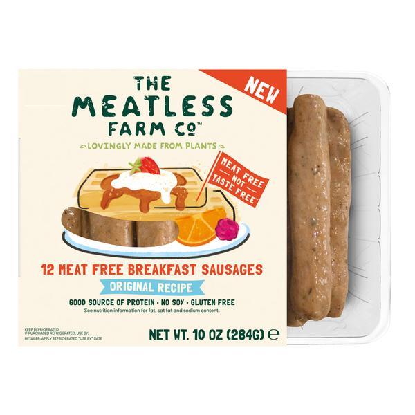 ORIGINAL RECIPE MEAT FREE BREAKFAST SAUSAGES