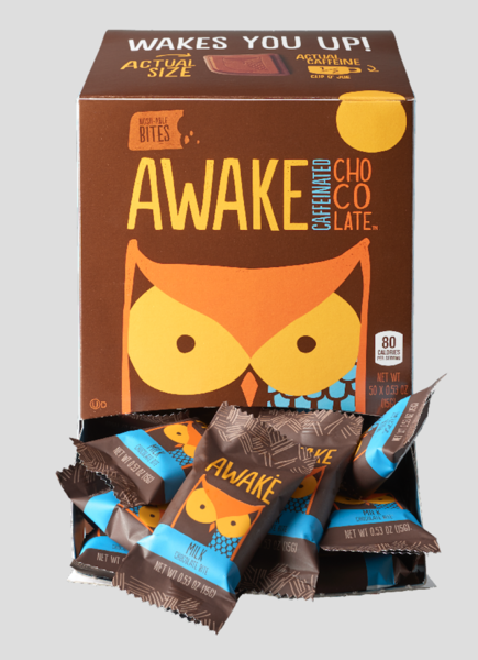MILK CAFFEINATED CHOCOLATE BITES