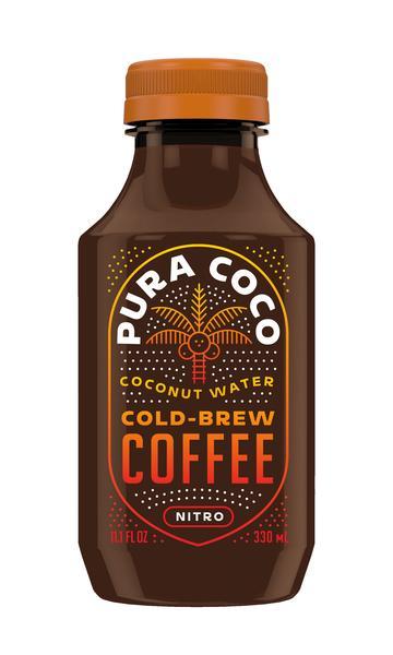 NITRO COCONUT WATER COLD-BREW COFFEE