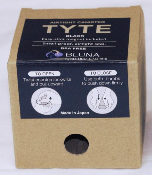 AIRTIGHT CANISTER TYTE BLACK