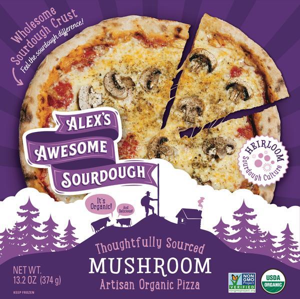THOUGHTFULLY SOURCED MUSHROOM ARTISAN ORGANIC PIZZA