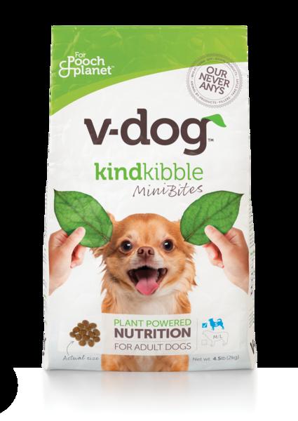PLANT POWDERED NUTRITION KIND KIBBLE MINI BITES FOR ADULT DOGS