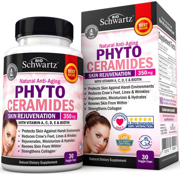 350 Mg Natural Anti Aging Phyto Ceramides Skin Rejuvenation Natural Dietary Supplement Veggie Caps The Natural Products Brands Directory