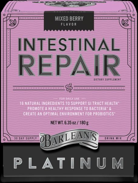 INTESTINAL REPAIR DIETARY SUPPLEMENT MIXED BERRY DRINK MIX