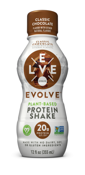 CLASSIC CHOCOLATE FLAVOR PLANT-BASED PROTEIN SHAKE