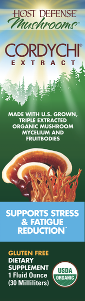 ORGANIC MUSHROOMS MYCELIUM AND FRUITBODIES SUPPORTS STRESS & FATIGUE REDUCTION GLUTEN FREE DIETARY SUPPLEMENT