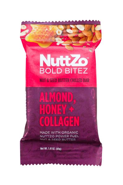 ALMOND, HONEY + COLLAGEN NUT & SEED BUTTER CHILLED BOLD BITEZ BAR