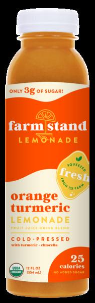 ORANGE TURMERIC LEMONADE FRUIT JUICE DRINK BLEND