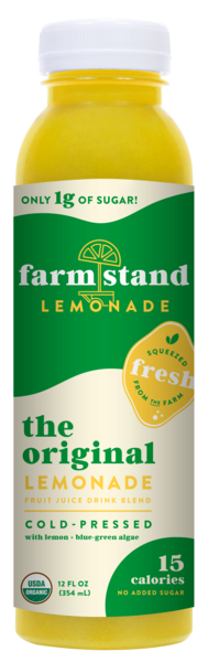THE ORIGINAL COLD-PRESSED LEMONADE FRUIT JUICE DRINK BLEND