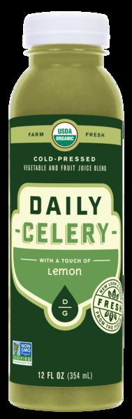 LEMON COLD - PRESSED VEGETABLE AND FRUIT JUICE BLEND