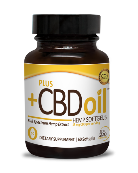 FULL SPECTRUM HEMP EXTRACT 15 MG CBD DIETARY SUPPLEMENT SOFTGELS