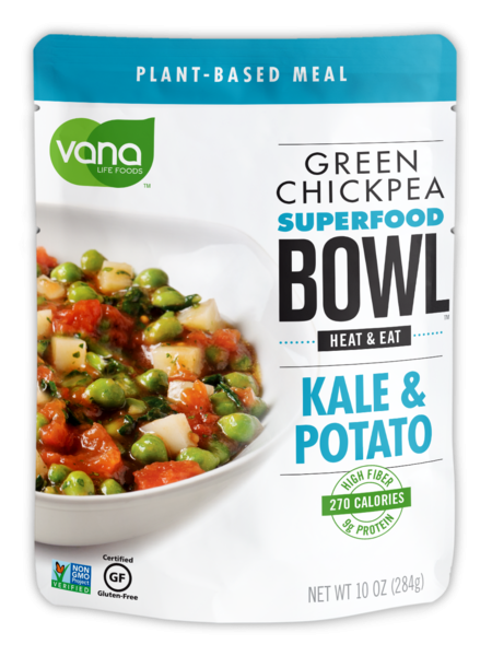 KALE & POTATO GREEN CHICKPEA SUPERFOOD BOWL