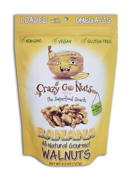 BANANA ALL-NATURAL GOURMET WALNUTS