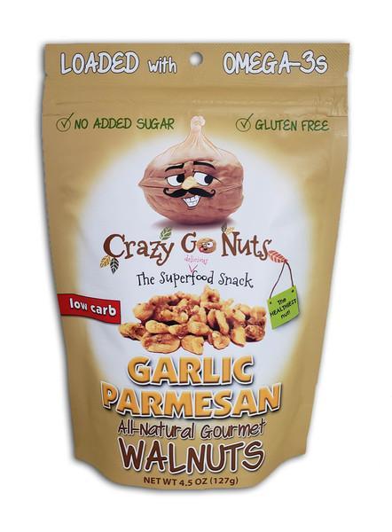 GARLIC PARMESAN ALL-NATURAL GOURMET WALNUTS