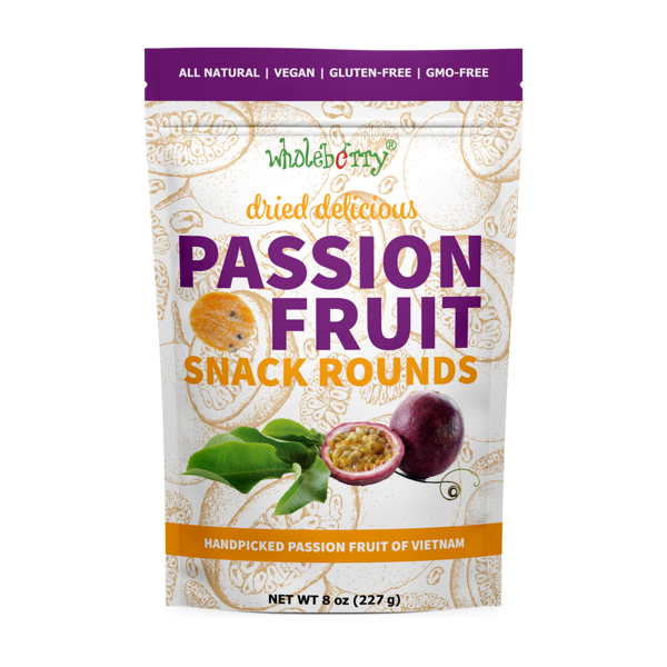 PASSION FRUIT SNACK ROUNDS