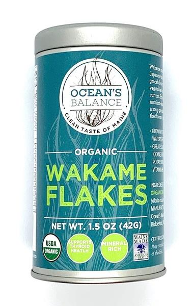 ORGANIC WAKAME FLAKES