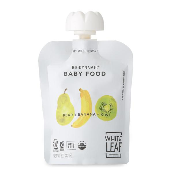 PEAR + BANANA + KIWI BABY FOOD