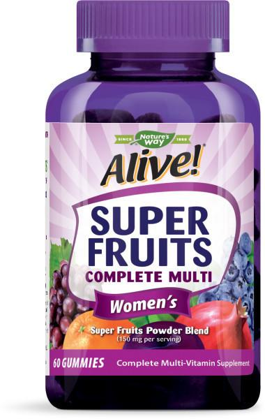 WOMEN'S SUPER FRUITS COMPLETE MULTI-VITAMIN SUPPLEMENT GUMMIES