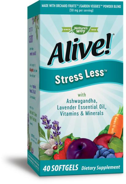 STRESS LESS DIETARY SUPPLEMENT SOFTGELS