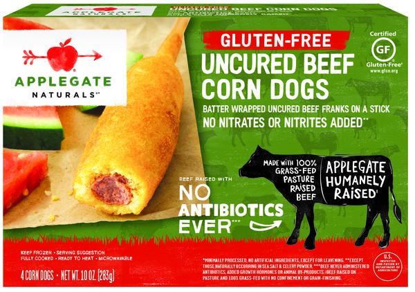 UNCURED BEEF CORN DOGS