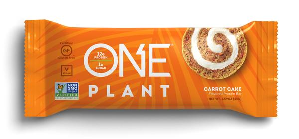 CARROT CAKE FLAVORED PROTEIN BAR