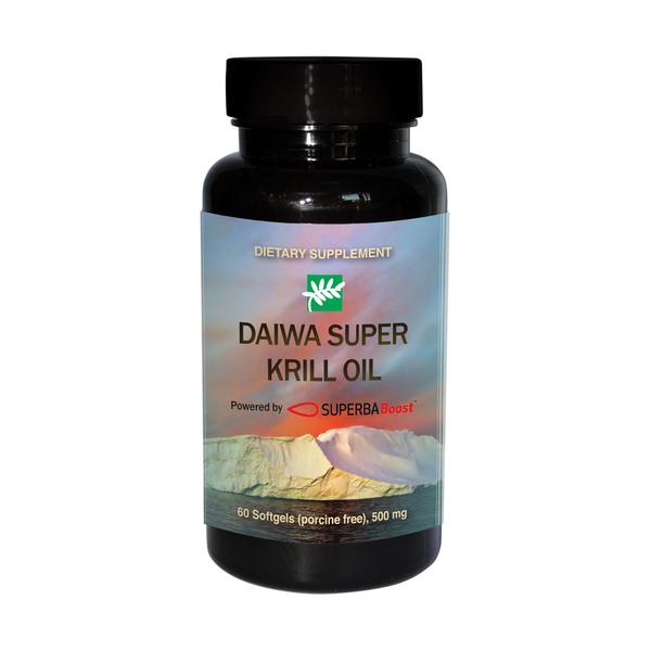 DAIWA SUPER KRILL OIL DIETARY SUPPLEMENT
