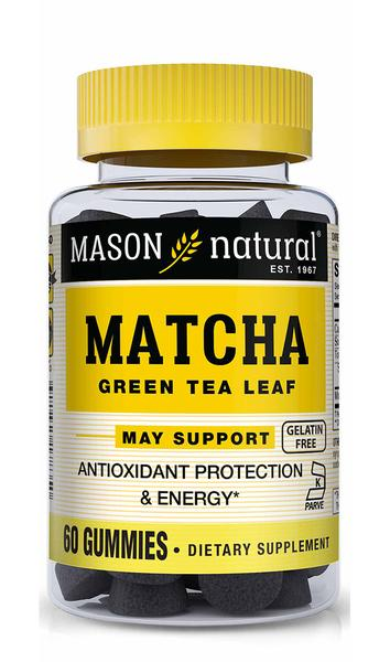 MATCHA GREEN TEA LEAF DIETARY SUPPLEMENT GUMMIES