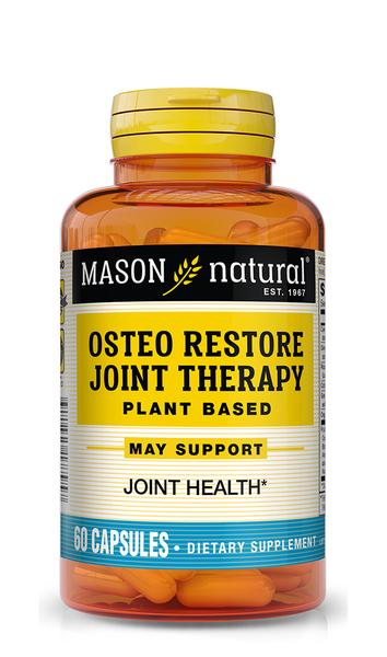 OSTEO RESTORE JOINT THERAPY PLANT BASED JOINT HEALTH DIETARY SUPPLEMENT CAPSULES