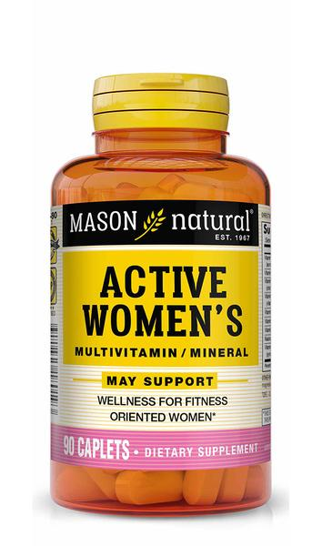 ACTIVE WOMEN'S MULTIVITAMIN / MINERAL MAY SUPPORT WELLNESS FOR FITNESS ORIENTED WOMEN DIETARY SUPPLEMENT CAPLETS