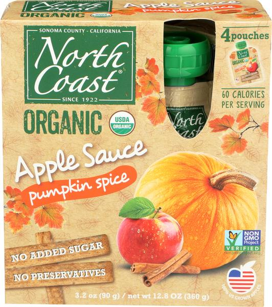 PUMPKIN SPICE APPLE SAUCE
