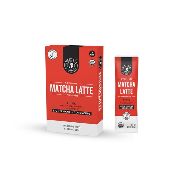LION'S MANE + CORDYCEPS PREMIUM MATCHA LATTE INFUSIONS