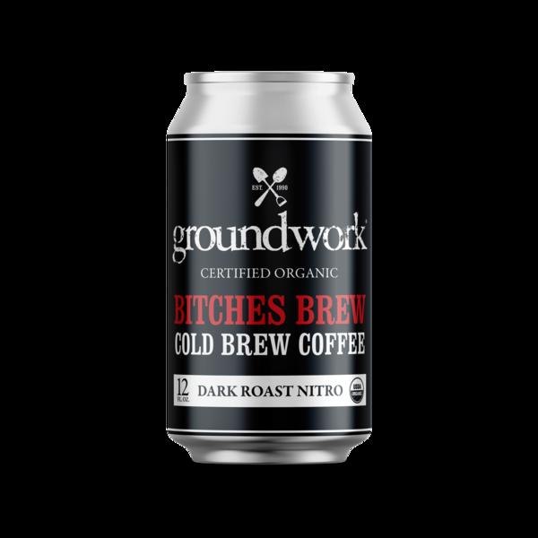 DARK ROAST NITRO BITCHES BREW COLD BREW COFFEE