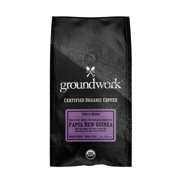 PAPUA NEW GUINEA SINGLE ORIGIN MEDIUM ROAST - WHOLE BEAN ARABICA COFFEE
