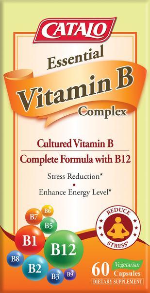 VITAMIN B COMPLEX CULTURED VITAMIN B COMPLETE FORMULA WITH B12 VEGETARIAN CAPSULES DIETARY SUPPLEMENT
