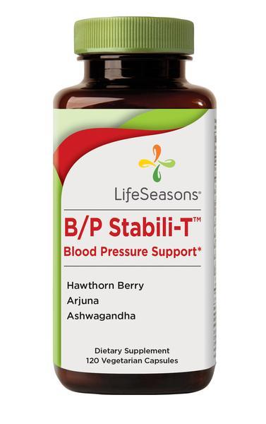 B/P STABILI-T BLOOD PRESSURE SUPPORT DIETARY SUPPLEMENT VEGETARIAN CAPSULES
