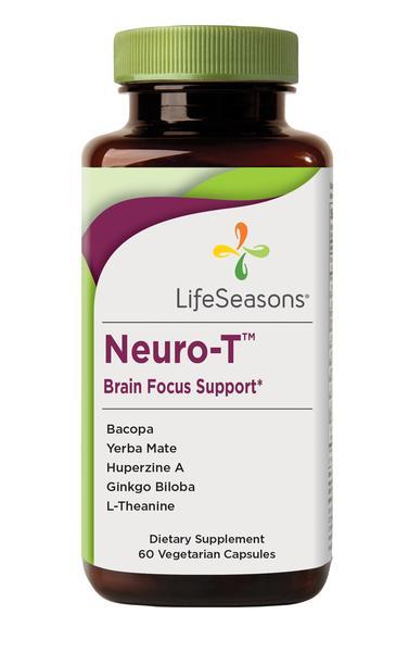 NEURO-T BRAIN FOCUS SUPPORT DIETARY SUPPLEMENT VEGETARIAN CAPSULES