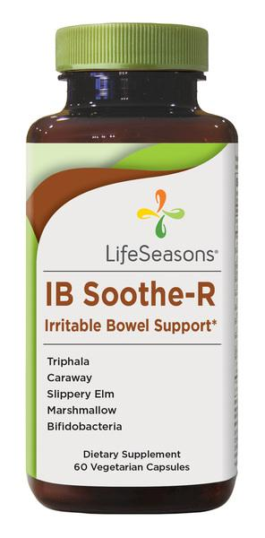 IB SOOTHE-R IRRITABLE BOWEL SUPPORT DIETARY SUPPLEMENT VEGETARIAN CAPSULES
