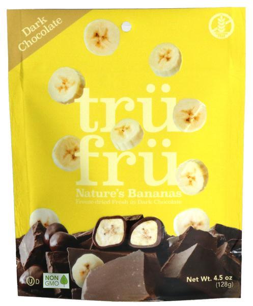 DARK CHOCOLATE 54% CACAO NATURE'S BANANAS HYPER-DRIED FRESH IN DARK CHOCOLATE