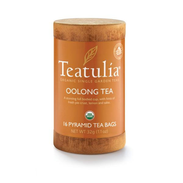 OOLONG ORGANIC SINGLE GARDEN WHOLE LEAF PYRAMID TEA BAGS