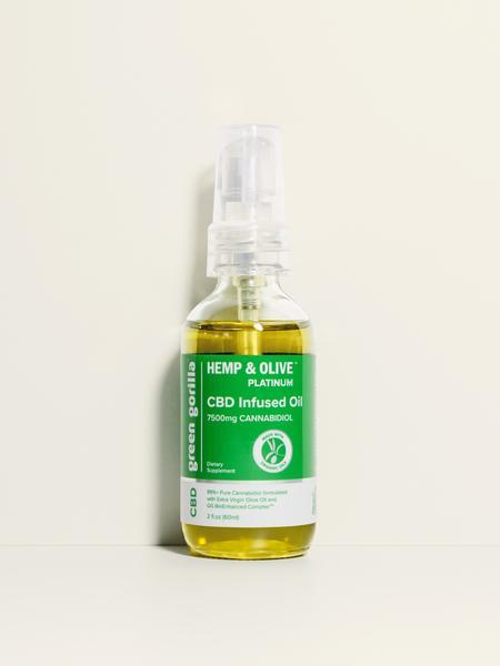 PLATINUM CANNABIDIOL 50 MG DIETARY SUPPLEMENT CBD INFUSED OIL