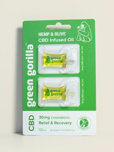 RELIEF & RECOVERY CANNABIDIOL 15 MG DIETARY SUPPLEMENT CBD INFUSED OIL