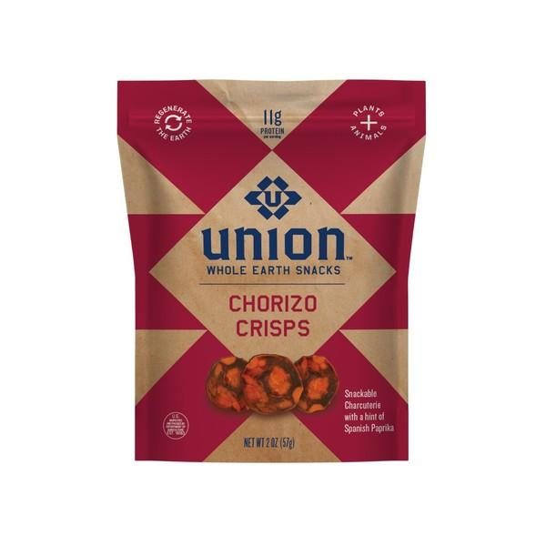 CHORIZO CRISPS SNACKABLE CHARCUTERIE WITH A HINT OF SPANISH PAPRIKA