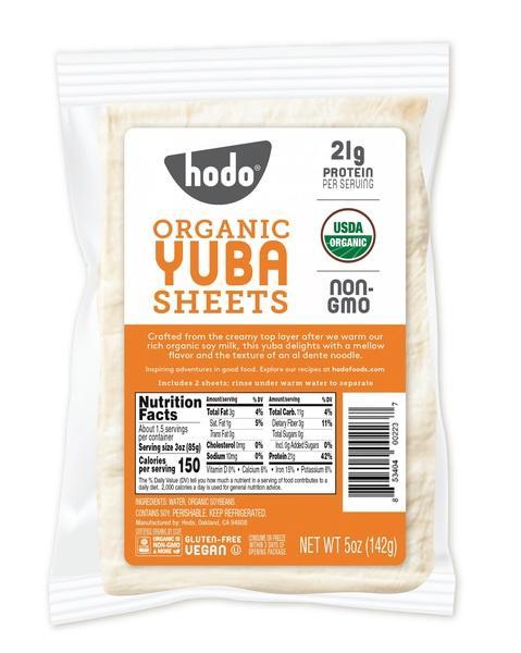 ORGANIC YUBA SHEETS