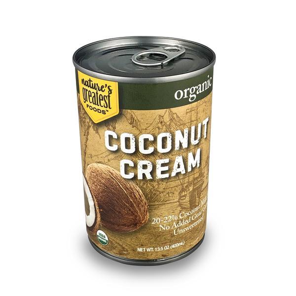 UNSWEETENED ORGANIC COCONUT CREAM