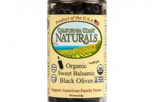 Organic Sweet Balsamic, Black Olives