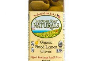 Organic Pitted Lemon Olives