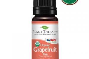 Grapefruit Pink Organic Essential Oil
